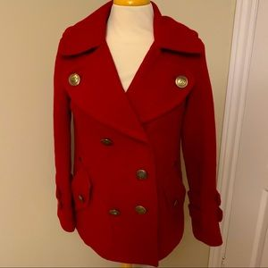 Burberry Blue label wool coat